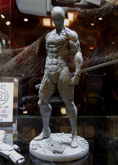 First look at Gray Fox statue by Gecco – Metal Gear Informer