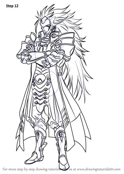 Learn How to Draw Ryoma from Fire Emblem (Fire Emblem