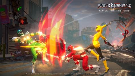 Power Rangers: Battle for the Grid Announced For PS4, Xbox