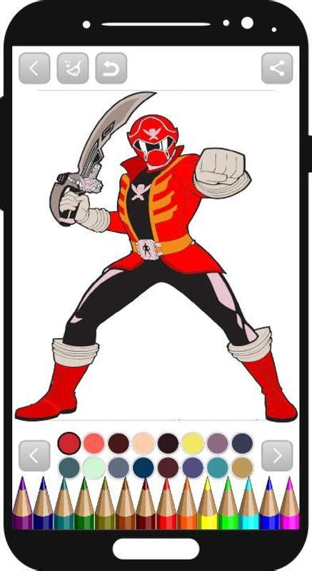 power rangers coloring book for Android - APK Download