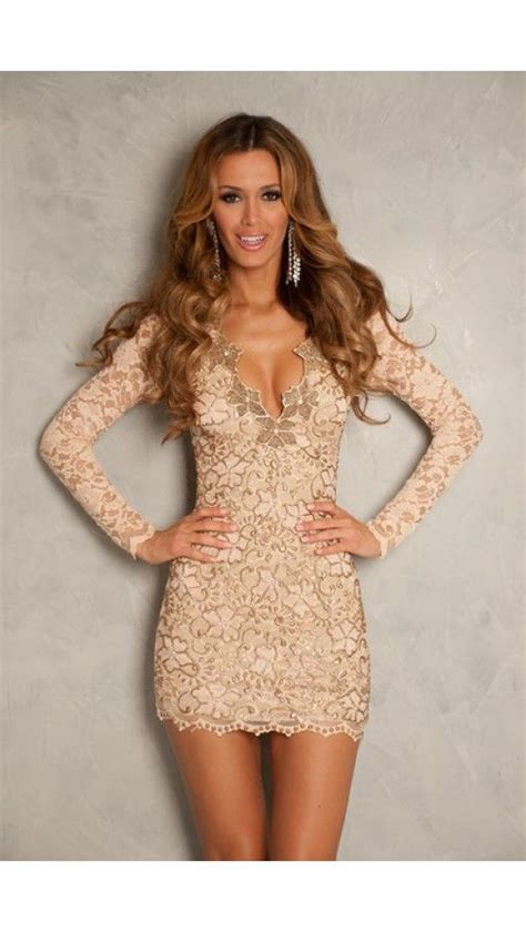 Short champagne dress image by Bella Hair & Makeup by
