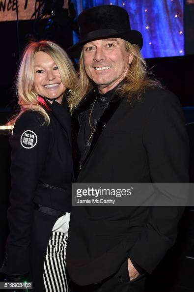 Pamela Stein and Robin Zander of Cheap Trick attend the
