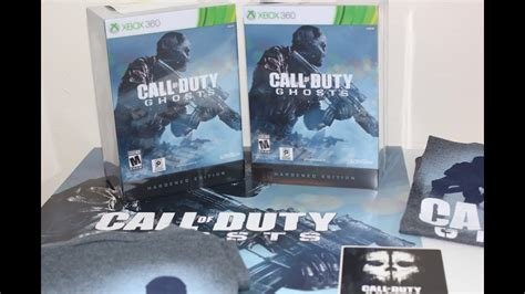 Call of Duty Ghosts HARDENED EDITION Unboxing - Xbox 360