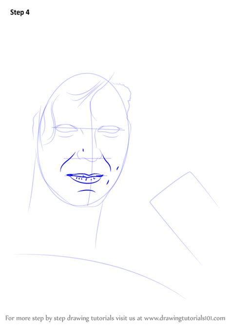 Learn How to Draw David Bowie (Singers) Step by Step