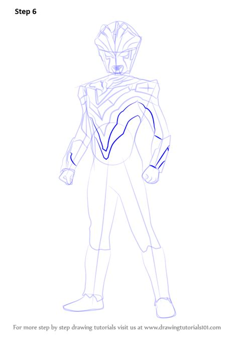 Learn How to Draw Ultraman Victory (Ultraman) Step by Step