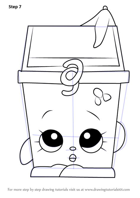 Learn How to Draw Lisa Litter from Shopkins (Shopkins